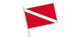 Buoy Flag Steer Clear