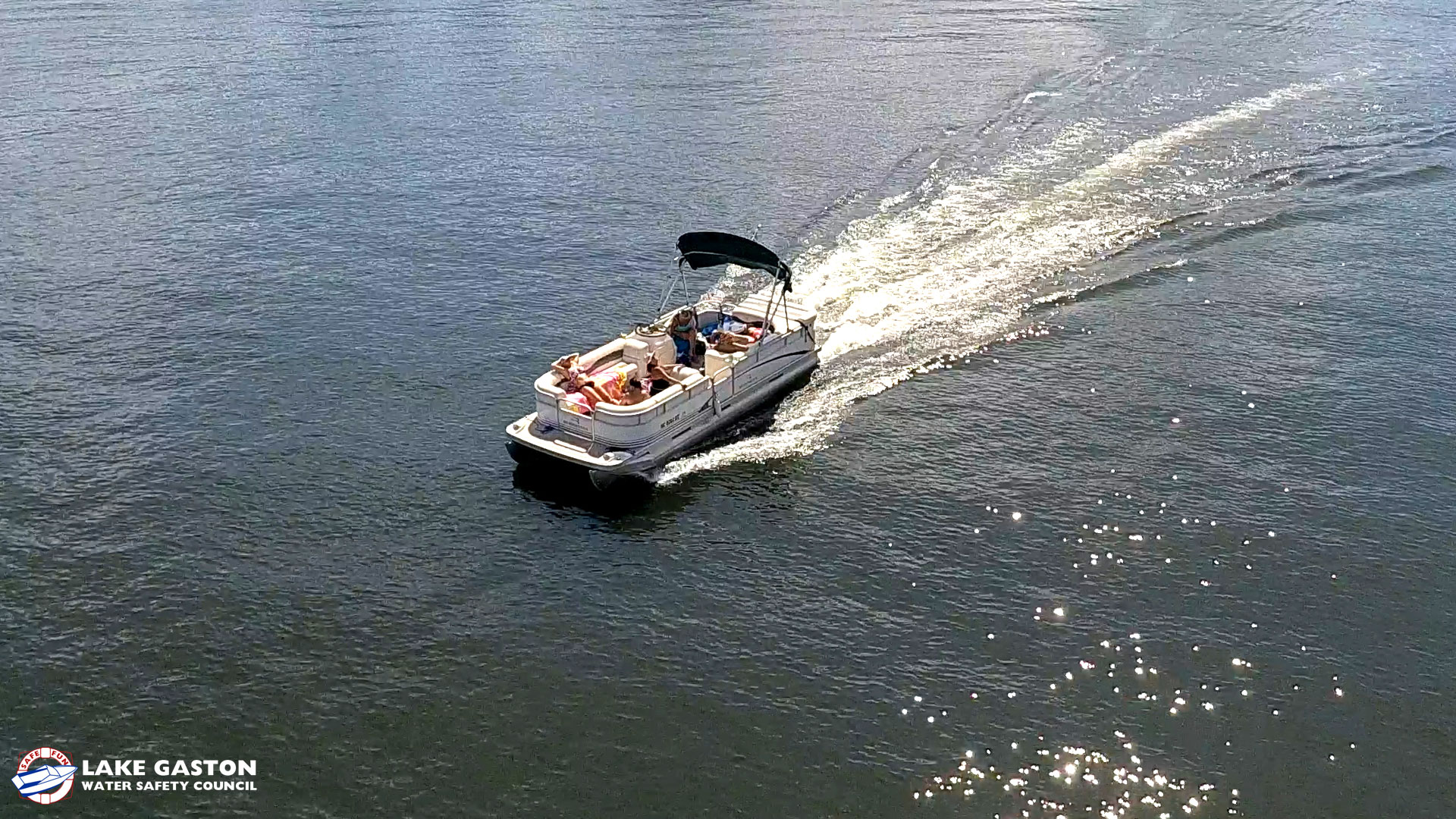 Lake Gaston Boating Safety Inspections and BLUE LIGHT LAW
